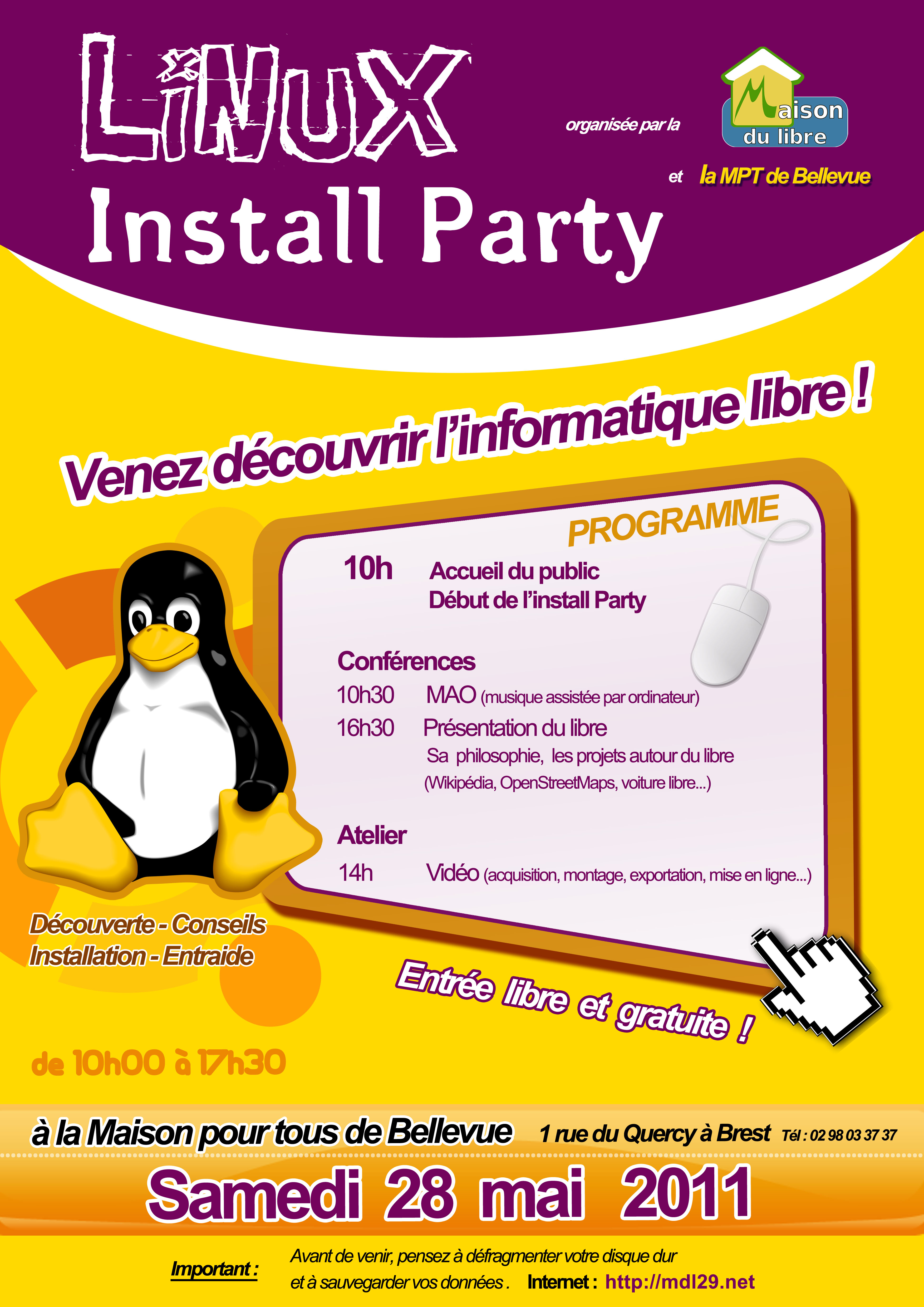 Install party le 28