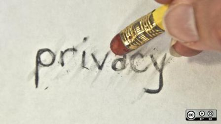 Privacy by OpenSourceWay CC BY SA - https://www.flickr.com/photos/opensourceway/4638981545