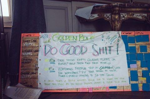 Un rappel des règles à respecter pour que la vie en communauté se passe bien