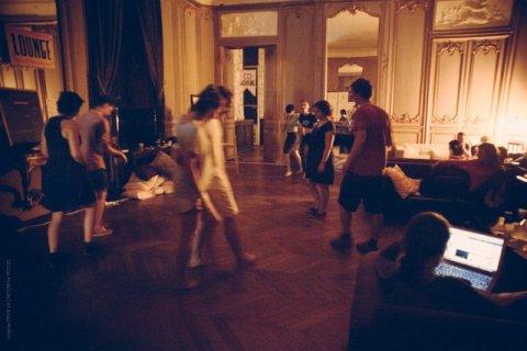 Cours de danse Lindy-Hop dans le grand château