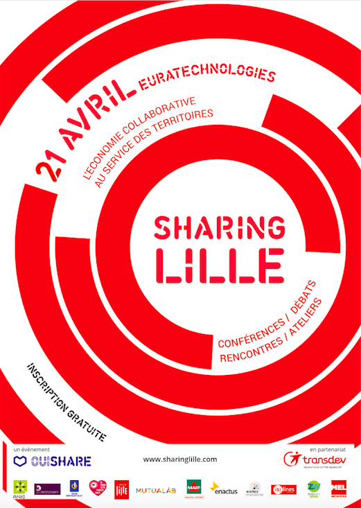 Affiche Sharing Lille